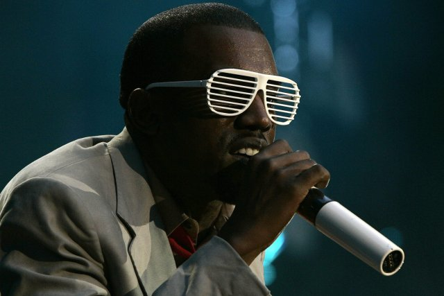Kanye West... (Photo Luke MacGregor, Reuters)