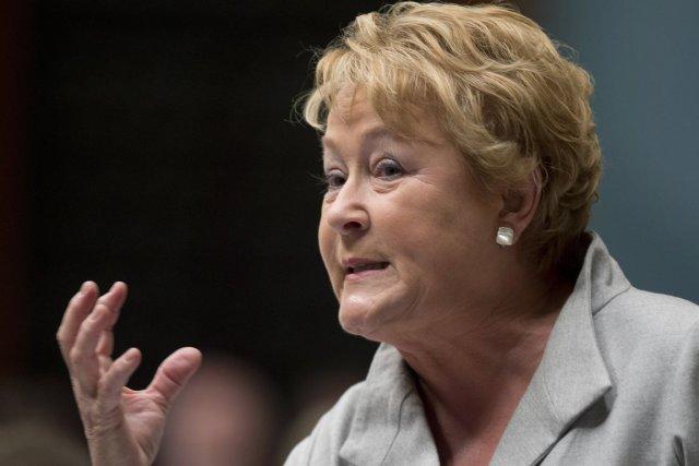 Pauline Marois... (Photo Jacques Boissinot, La Presse Canadienne)