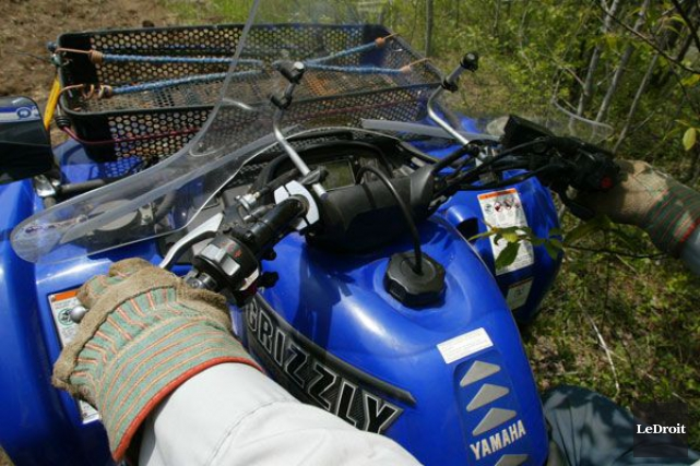 Le Code de la sécurité routière ne s'applique pas sur un terrain privé, selon... (Photo Archives, LeDroit)