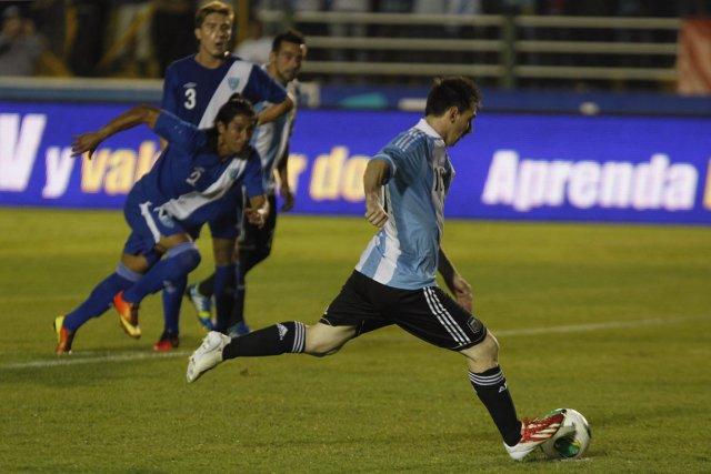 Lionel Messi a désormais inscrit 35 buts pour... (Photo : Jorge Dan Lopez, Reuters)