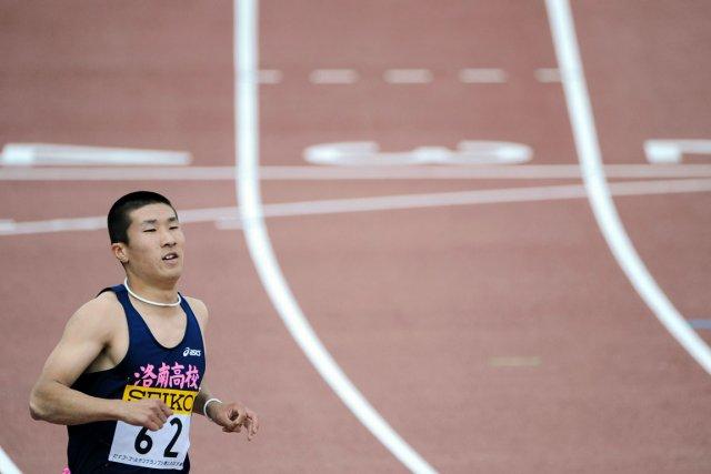 Yoshihide Kiryu espère devenir le premier Asiatique à... (Photo : Rie ISHII, archives AFP)