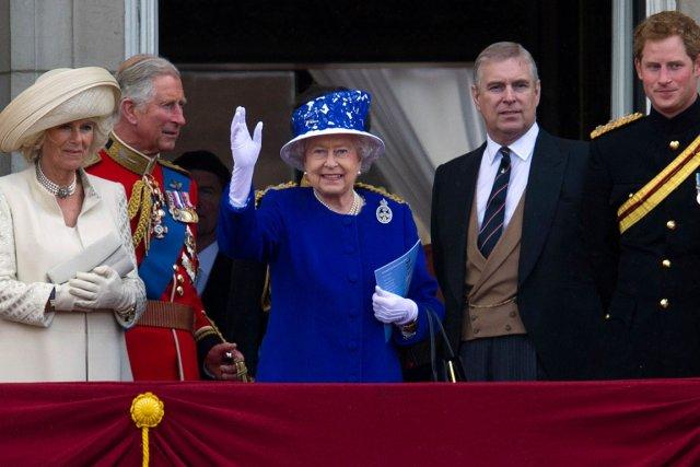 La vraie date de naissance de la reine,... (Photo : Carl Court, AFP)
