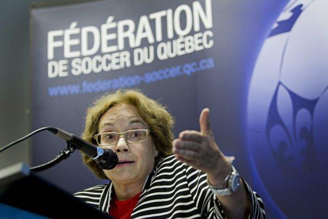 Brigitte Frot, directrice générale de la Fédération de... (Anne Gauthier)