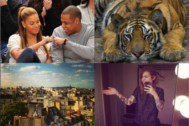 Il y a 100 millions de personnes qui utilisent l'application photo Instagram... (PHOTOMONTAGE LA PRESSE)