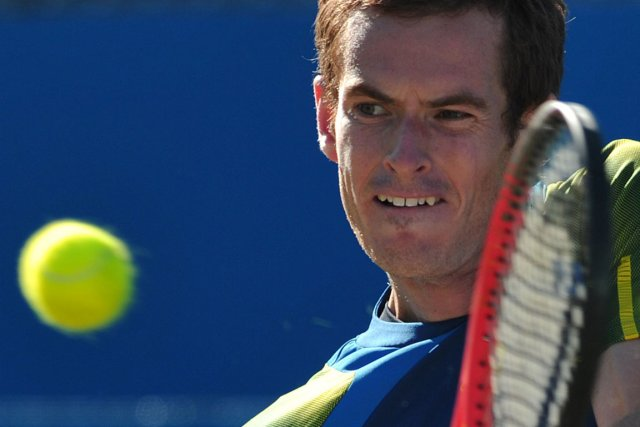Andy Murray... (Photo : Carl Court, AFP)