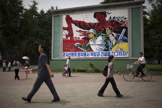 La Corée du Nord est désireuse d'avoir «des... (Photo: Archives AP)