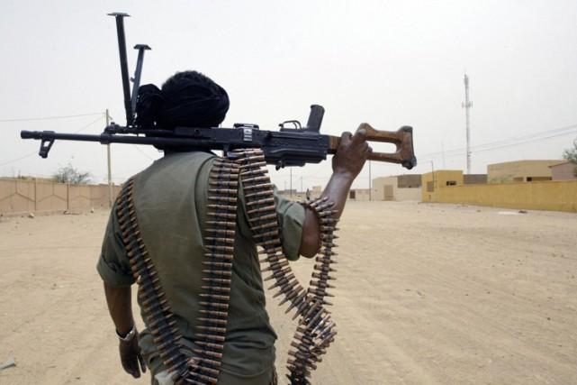Les mouvements armés touareg se sont installés fin... (Photo: AFP)