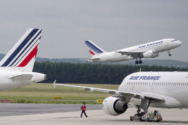 Air France-KLM offre 27 vols long-courriers chaque semaine... (Photo AFP)