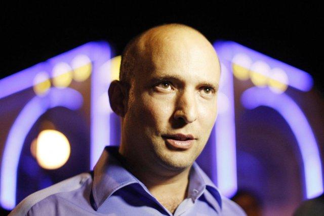 Le ministre israélien de l'Économie et chef du... (PHOTO AMIR COHEN, ARCHIVES REUTERS)