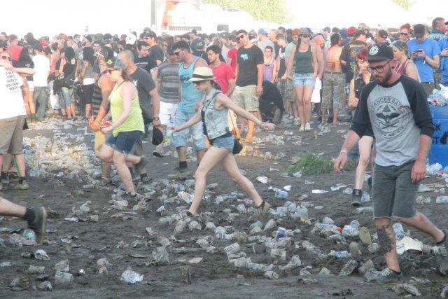 Édition 2013 du Rockfest de Montebello.... (Jessy Laflamme, LeDroit)