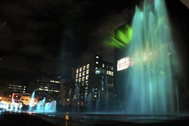 Le Quartier des spectacles de Montréal.... (Photo Bernard Brault, La Presse)