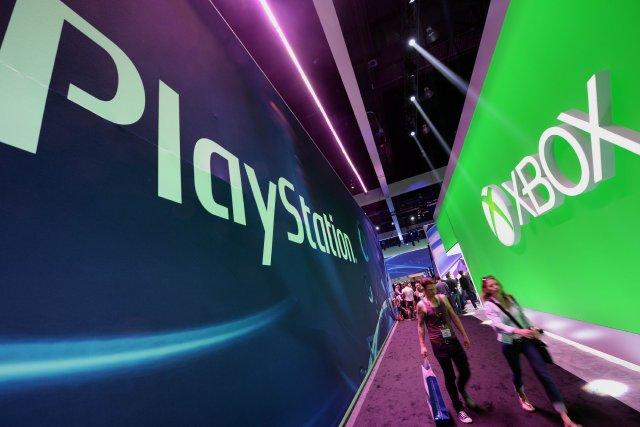 La foire annuelle du jeu vidéo s'est terminée jeudi dernier. Les écrans géants... (Photo AFP)