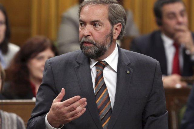 Le NPD a repris du poil de la... (La Presse Canadienne)