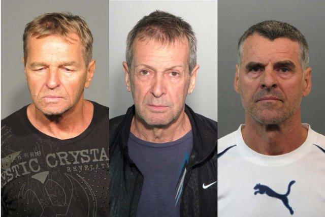 Denis Paquette, Gilles Pinsonneault et Michel Renausont considérés...