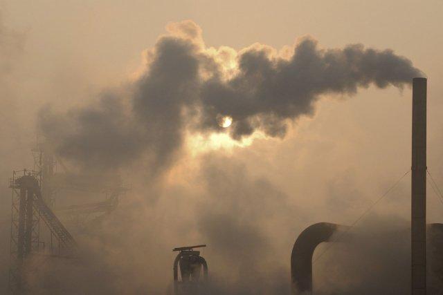 Des femmes exposées durant leur grossesse à des niveaux de pollution de l'air... (Photo archives AP)