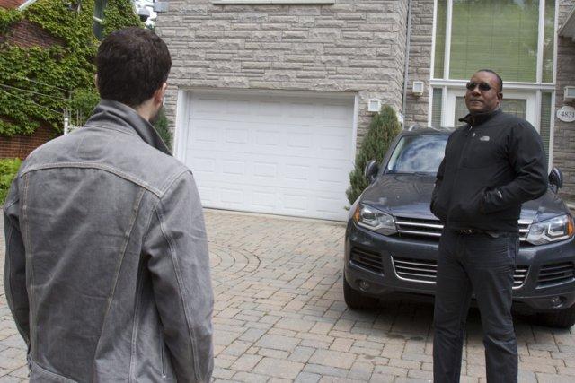 La maison de Tony Magi est bien gardée.... (Photo: Olivier Jean, La Presse)