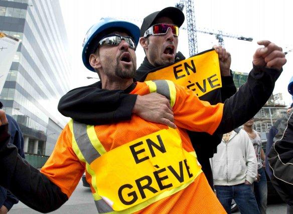 Tous les chantiers du Québec sont en arrêt... (Photo La Presse)