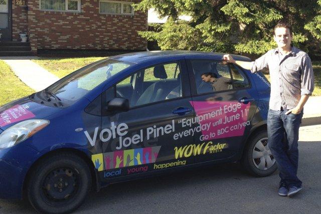 Joel Pinel dirige WOW Factor Media à Moose... (PHOTO FOURNIE PAR WOW FACTOR MEDIA)