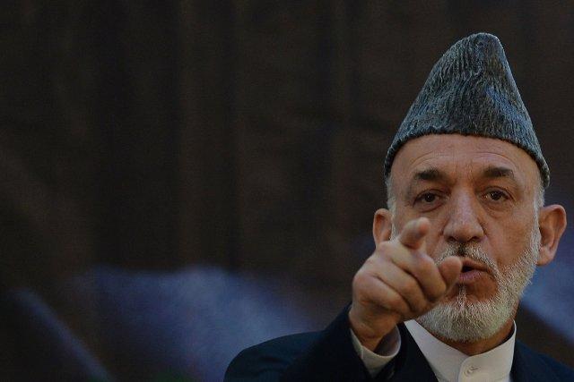Le président de l'Afghanistan,Hamid Karzais'était au départ opposé... (PHOTO SHAH MARAI, AFP)