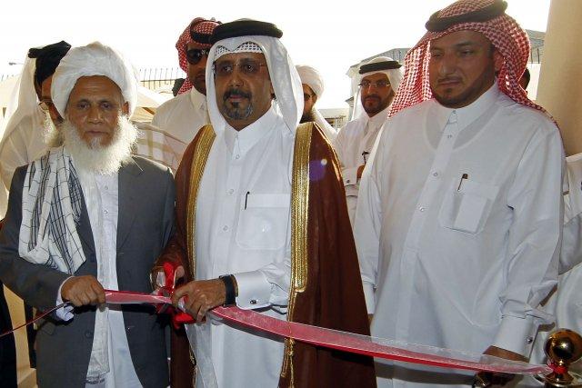L'assistant du ministre des Affaires étrangères du Qatar,... (PHOTO FAISAL AL-TIMIMI, AFP)