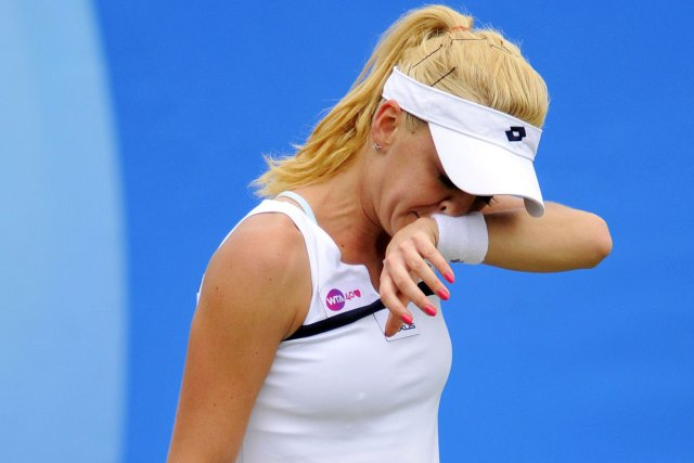 Agnieszka Radwanska... (Photo Glyn Kirk, AFP)