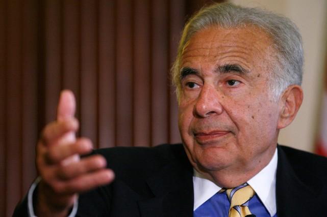 Le conglomérat de CarlIcahnaurait commencé la démarche pour... (Photo d'archives Reuters)
