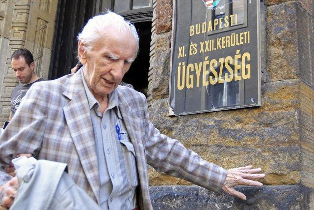 Laszlo Csatary, qui a vécu pendant plusieurs années... (Photo Laszlo Balogh, Reuters)