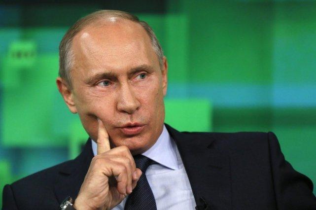Le président russe Vladimir Poutine.... (PHOTO REUTERS)