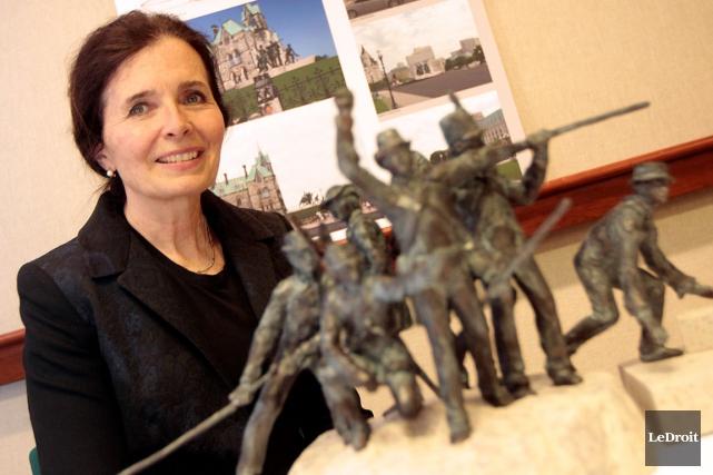 «Pour moi, le Monument de la guerre de... (Étienne Ranger, Archives LeDroit)