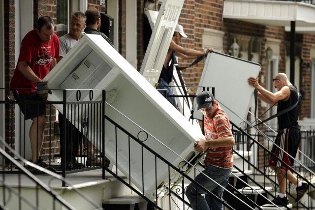 Chaque année, des consommateurs sont victimes de déménageurs... (Photo Bernard Brault, Archives La Presse)