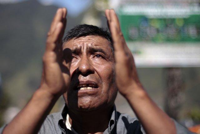 Un groupe international d'archéologues a découvert dans l'est du Mexique une... (Photo JORGE DAN LOPEZ, Reuters)