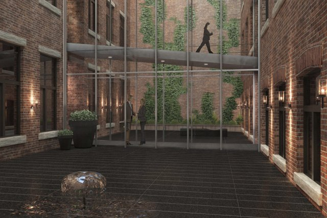 Plusieurs projets résidentiels dans le Vieux-Montréal et les environs, comme le... (Illustration fournie par projets Europa)