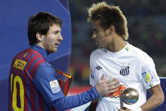 Lionel Messi et Neymar... (Photo Shizuo Kambayashi, AP)