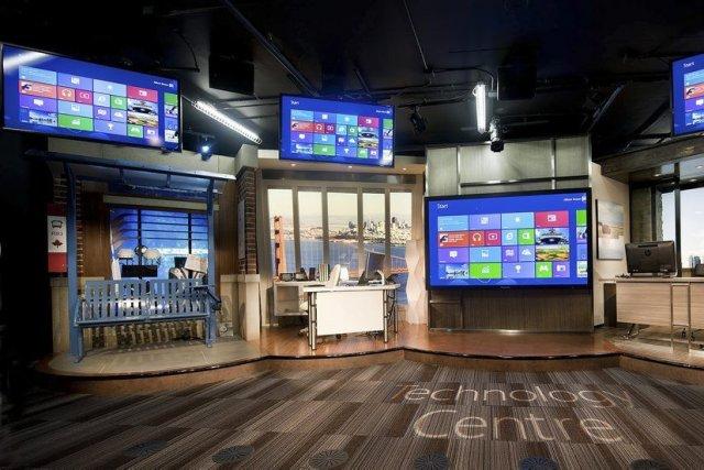 Le groupe informatique américain Microsoft a annoncé mercredi offrir des primes... (Photo CNW Group/Microsoft Canada)