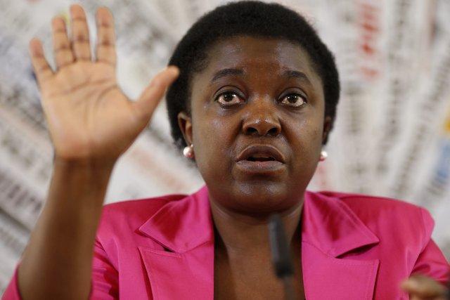 La ministre italienne de l'Intégration,Cécile Kyenge.... (Photo Tony Gentile, Reuters)