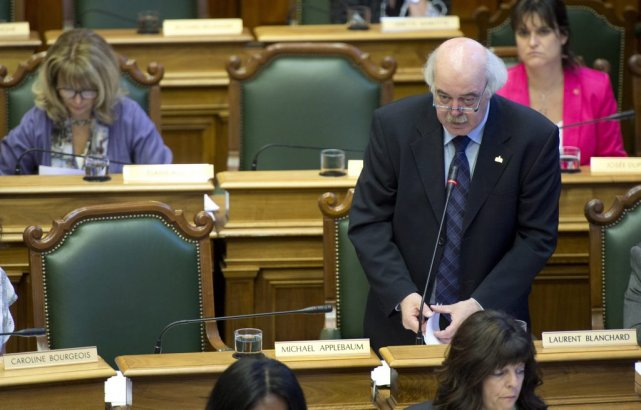Laurent Blanchard est tout indiqué pour devenir maire... (Photo Paul Chiasson, La Presse canadienne)