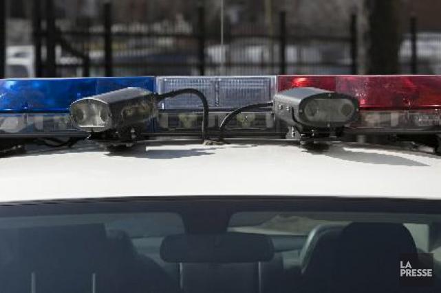 Selon la Sûreté du Québec, l'automobiliste a perdu... (Archives La Presse)