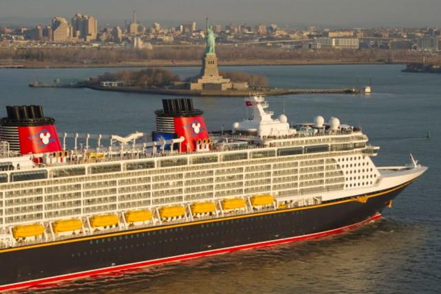 Disney, qui est récemment entrée sur le marché... (Disney Cruise Line News)