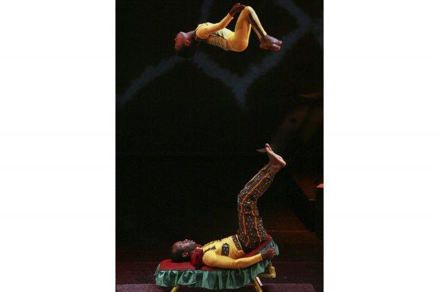 On verra un duo éthiopien formé de Henok... (Photo: fournie par le Festival international de cirque Vaudreuil-Dorion)