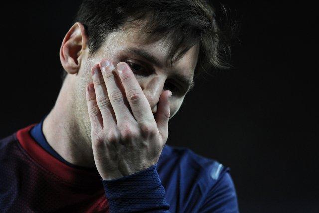 Lionel Messi... (Photo : Lluis Gene, archives AFP)