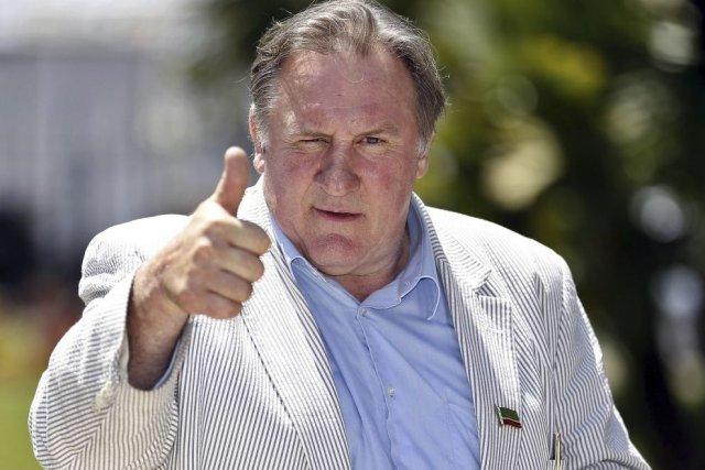 Gérard Depardieu à Nice... (Photo: AFP)