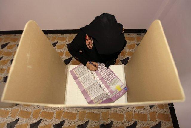 Quelque 2,8 millions d'électeurs des provinces de Ninive... (PHOTO Khalid Mohammed, AP)