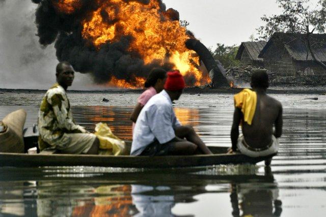 Les actes de sabotage sont fréquents dans le... (PHOTO GEORGE OSODI, AP)