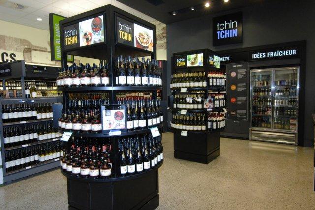 En trois ans, la valeur moyenne du panier à la Société des alcools du Québec... (Photo Michel Tremblay, Le Quotidien)