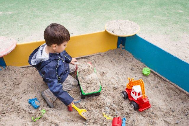 Les bordures d'un carré de sable devraient faire... (Photothèque Le soleil)