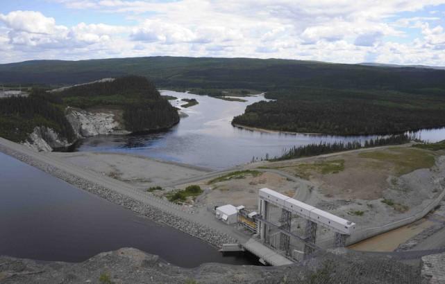 Le barrage Manouane... (Archives)