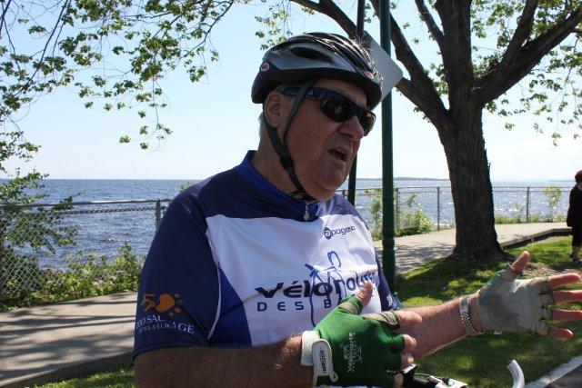 Jean-Claude Lindsay quitte la Véloroute des bleuets après... ((Archives))