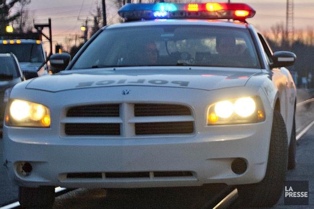 Une jeune conductrice a perdu la vie dans une collision survenue jeudi à... (Photo archives La Presse)