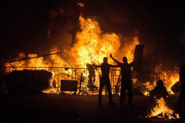 Des manifestants à Rio de Janeiro, le 20... (Photo AP)