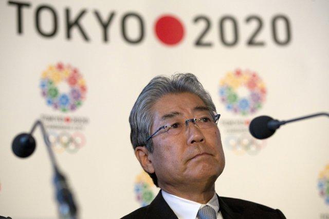 Tsunekazu Takeda, le président du comité de candidature... (Photo : Alastair Grant, archives AP)